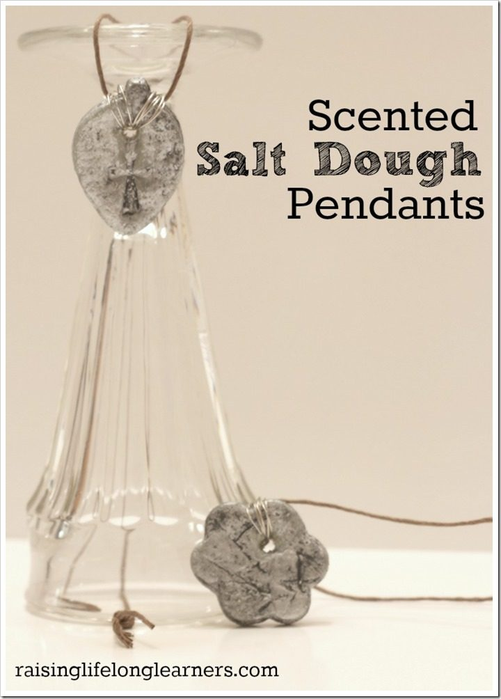 Scented Salt Dough Pendants
