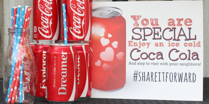 Give Back to the Neighbors with a Coke Stand in the Yard