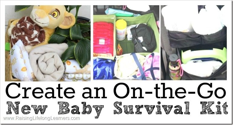 Create an On-the-Go New Baby Survival Kit