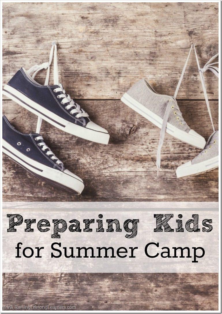 Preparing Kids for Summer Camp #ICCAMPMABEL