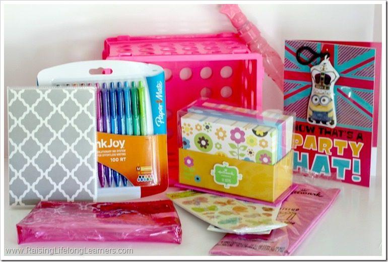 DIY PenPal Stationery Crate Birthday Gift Idea SendSmiles Ad