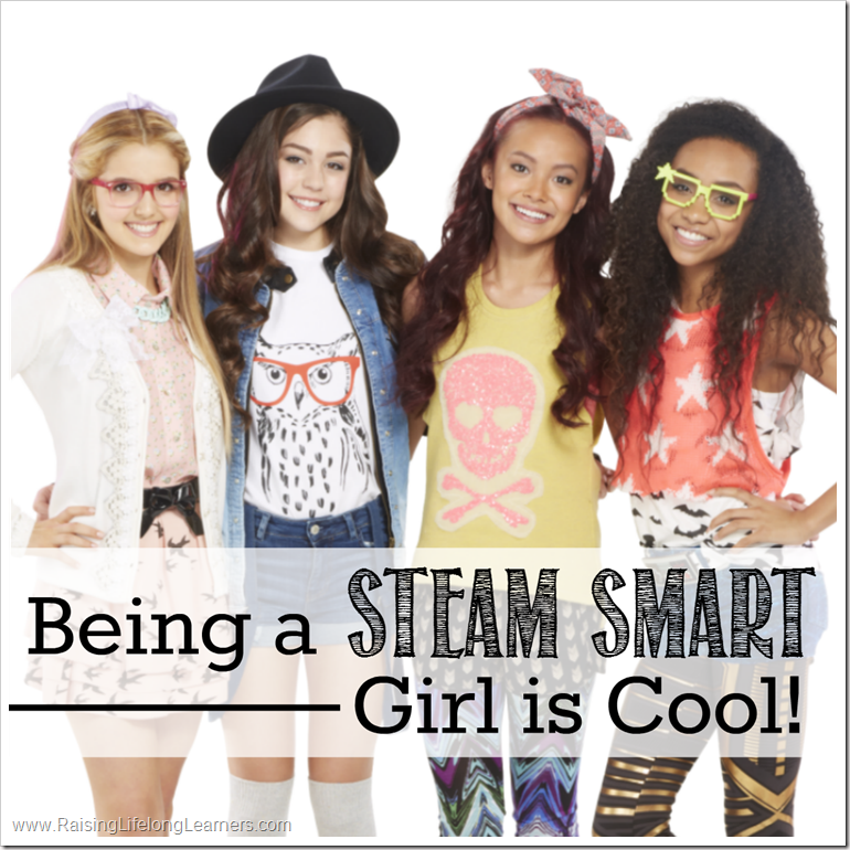Being a STEAM Smart Girl is Cool #StreamTeam #ProjectMC2 #STEAM #SmartIsTheNewCool
