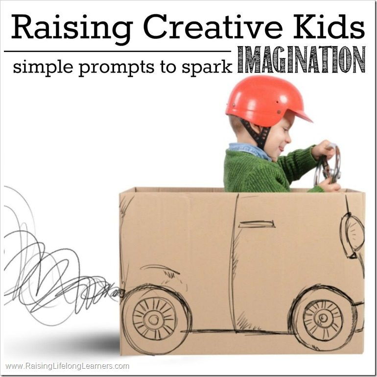 Raising Creative Kids Simple Prompts to Spark Imagination FB