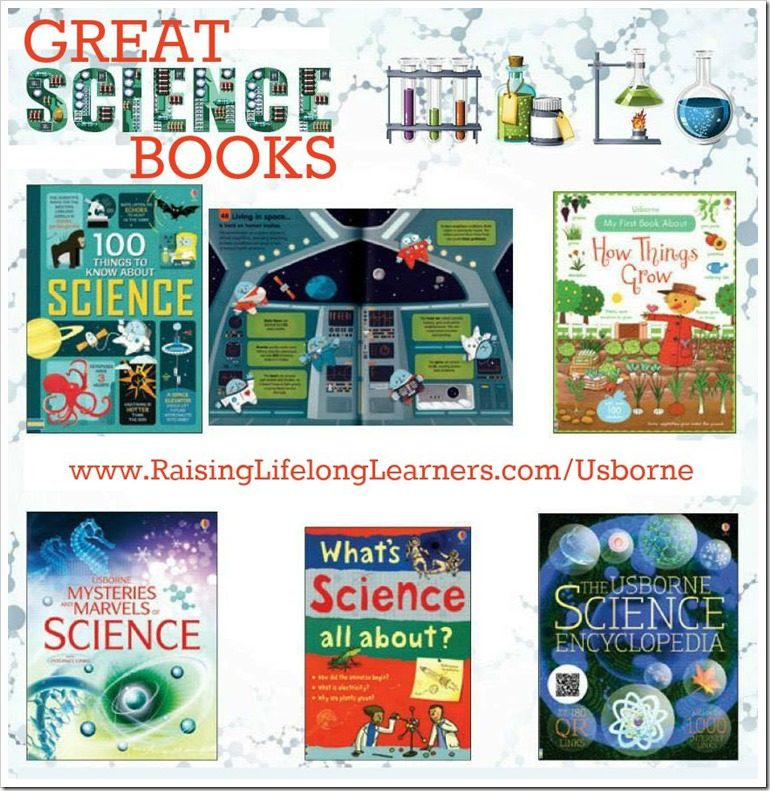 Science Books from Usborne Books and More
