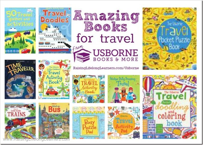 Usborne travel Books