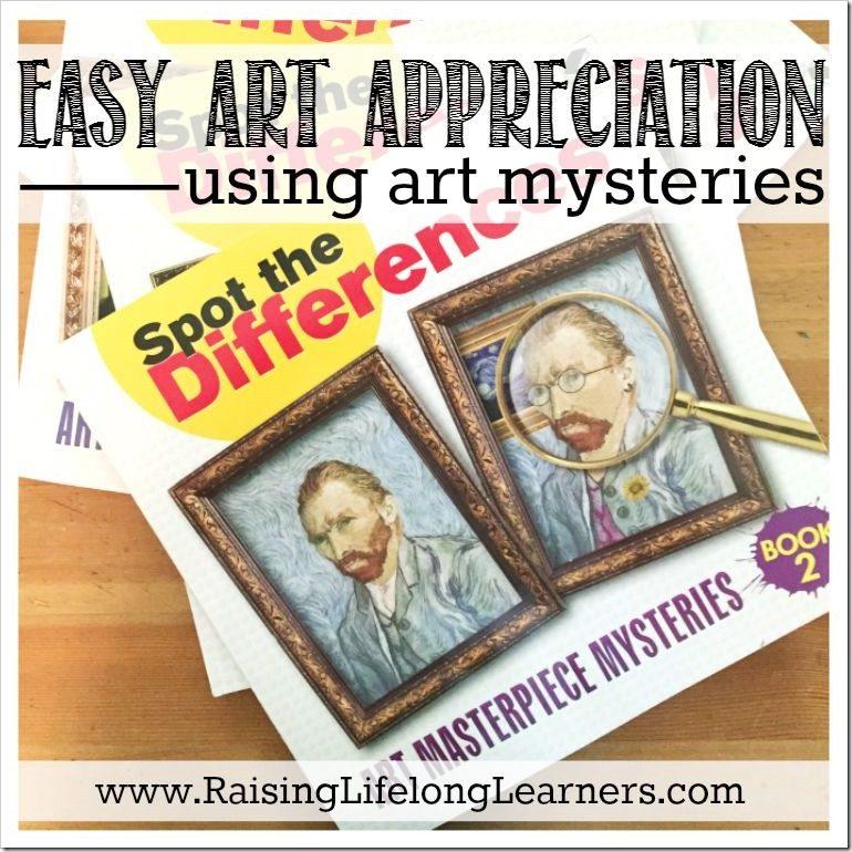 Easy Art Appreciation Using Art Mysteries FaceBook