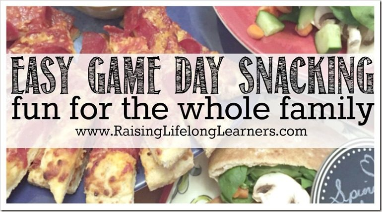 Easy Game Day Snacking Fun for the Whole Family #GameDayPizza #Cbias ad