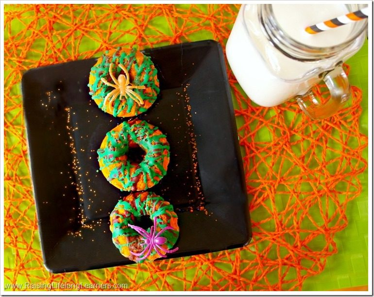 Spooky Spiderweb Cakes - Halloween Recipes for Kids