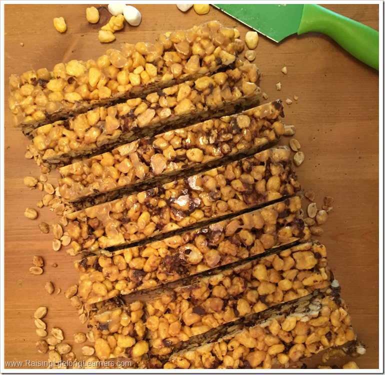 Easy Grab and Go Cereal Bar Recipe #FueledForSchool #cbias #ad