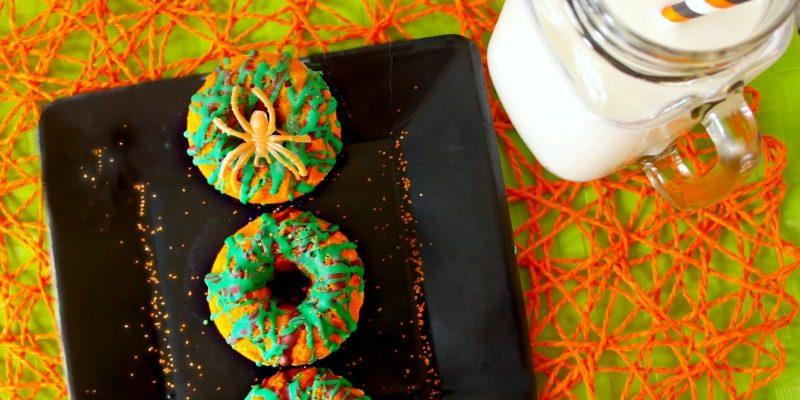 Spooky Spiderweb Cakes   Halloween Recipe for Kids