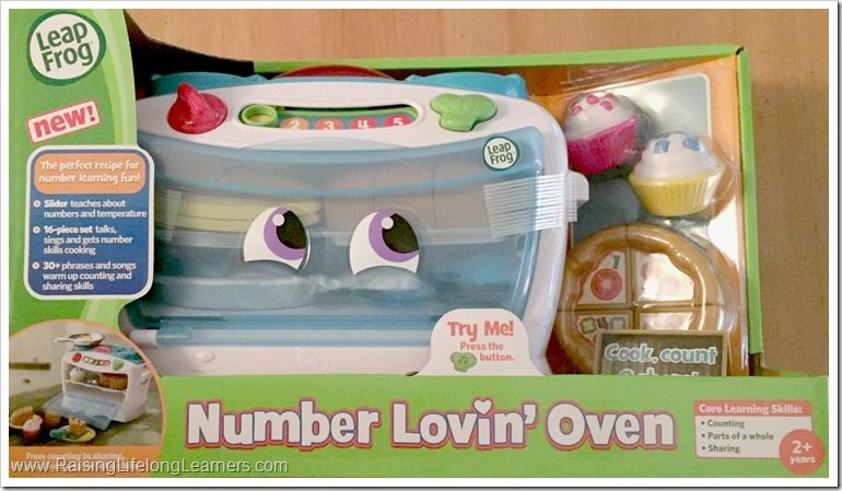 Learning with LeapFrog Number Lovin' Oven Review