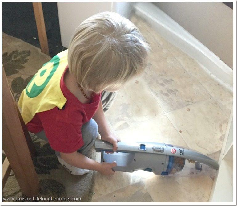 Making Chores Easy for Your Kids #NoCordNoBull #cg