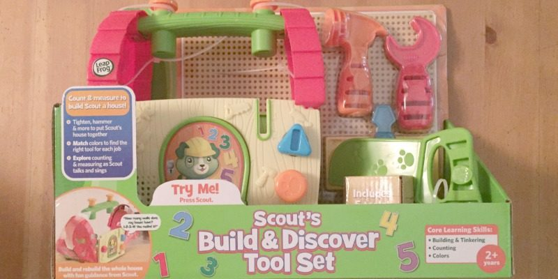 Learning with LeapFrog | Scout's Build and Discover Tool Set Review
