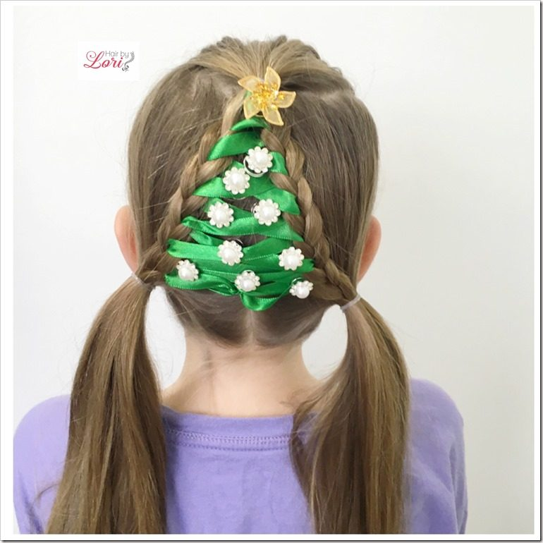 Easy Christmas Hairstyles Little Girls