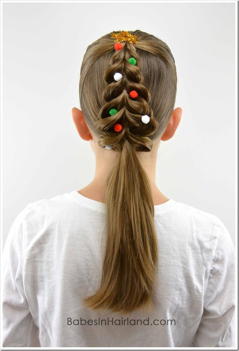 Tremendous 20 Easy Christmas Hairstyles For Little Girls Schematic Wiring Diagrams Phreekkolirunnerswayorg