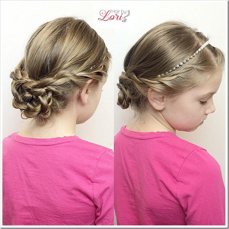 20 easy christmas hairstyles for little girls christmas hairstyles for little girls solutioingenieria Gallery