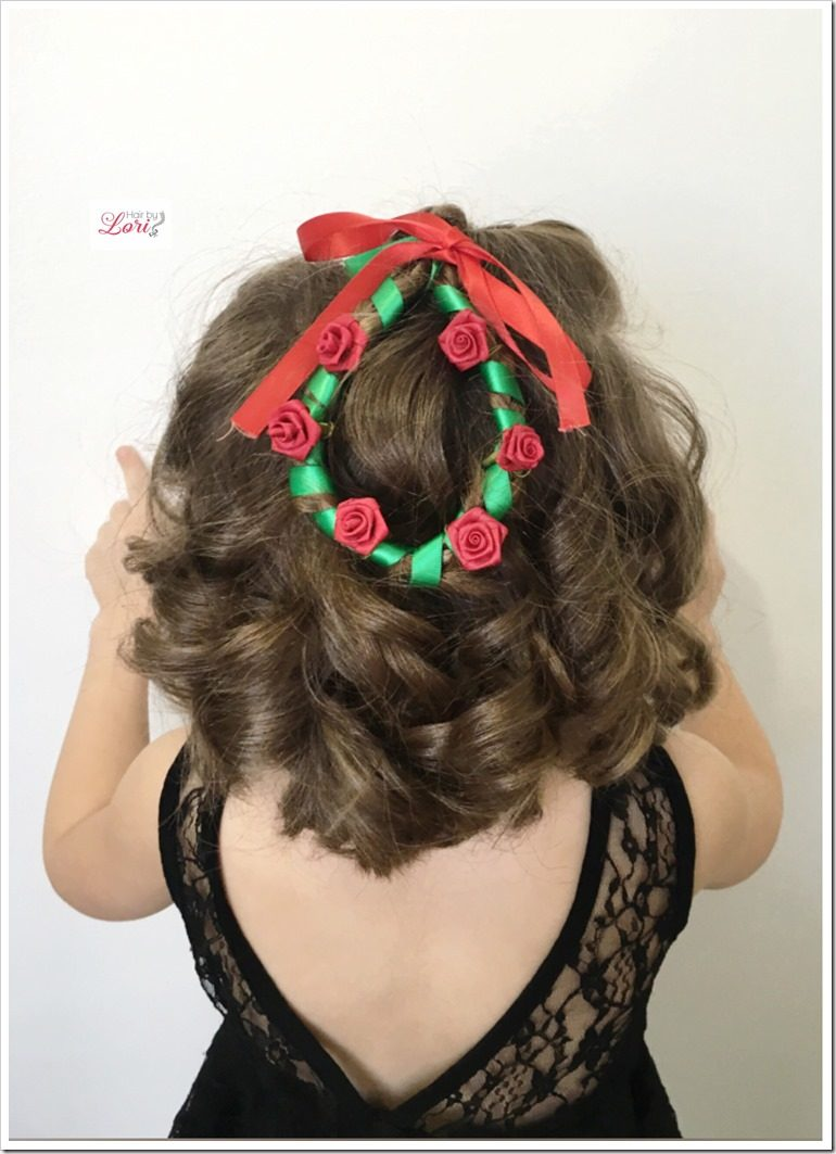 Christmas Hairstyles Easy.20 Easy Christmas Hairstyles For Little Girls