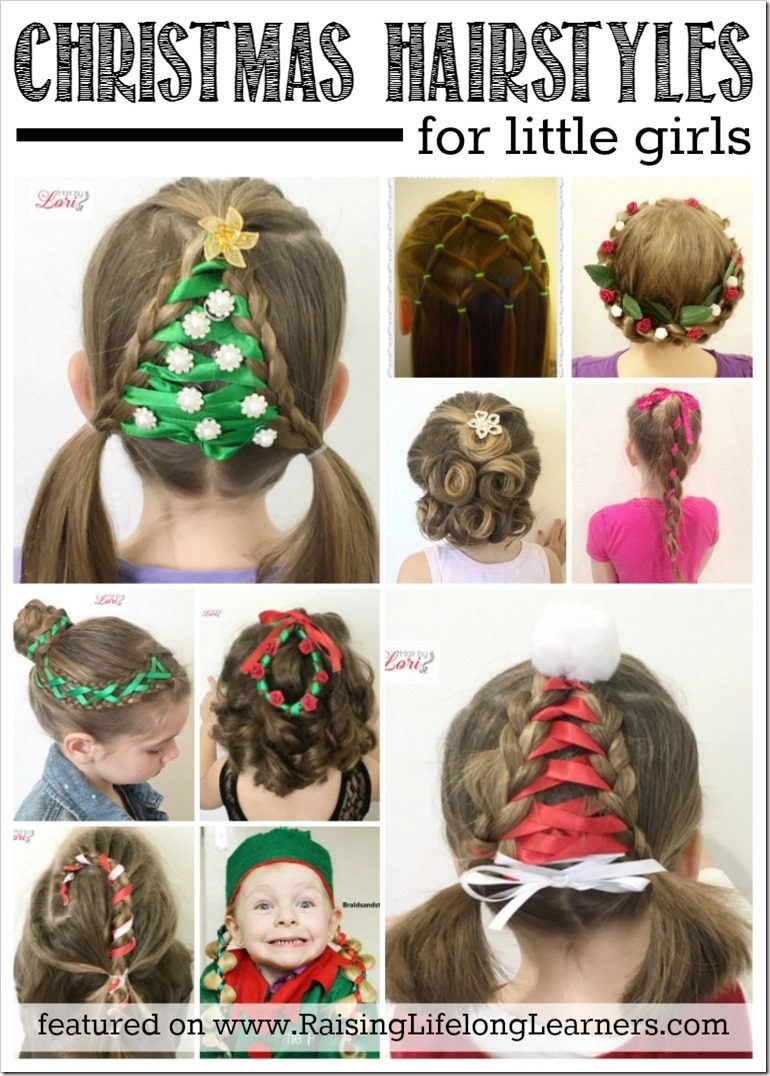 Fabulous 20 Easy Christmas Hairstyles For Little Girls Short Hairstyles Gunalazisus