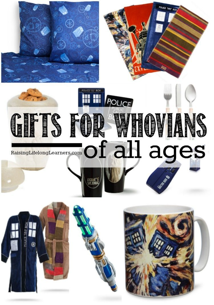 Are you a Dr. Who fan? Or, maybe you're raising a little Whovian... or four. Either way, you'll love this amazing collection of Dr. Who gifts...