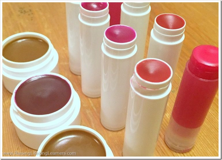 DIY Crayon Lip Balm - Kid Made Gifts
