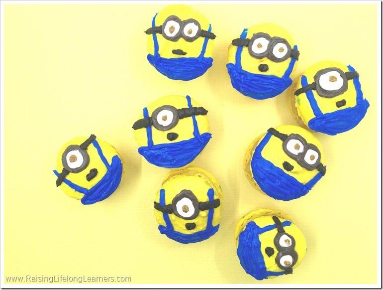 Minions Macarons Recipe