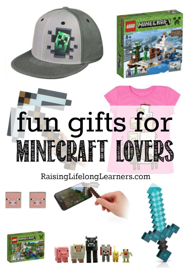 Do you have Minecraft fanatics? I have a love-hate relationship with Minecraft, but my kids love it, so I've gathered Minecraft-themed gifts just for them.