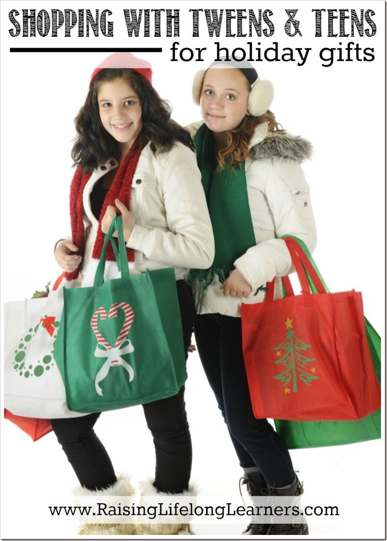 Shopping With Tweens and Teens for Holiday Gifts