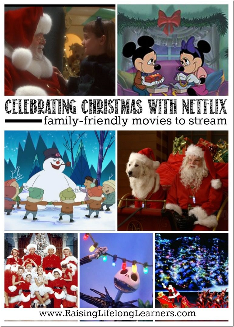 We love celebrating Christmas with Netflix. Check out some of our favorite family-friendly movies to stream... Did I miss any? Let me know... #Christmas #Netflix #familymovie