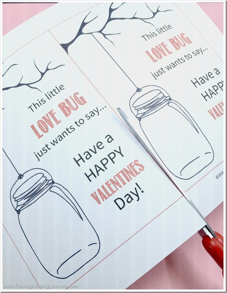 love bug themed valentines free printable non candy valentines day cards - Valentines Pictures Free