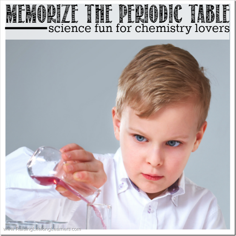 Memorize the Periodic Table - Science Fun for Chemistry Lovers