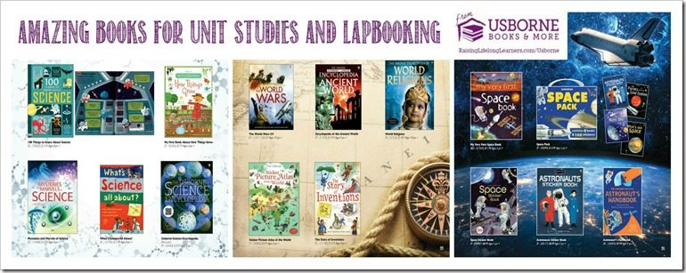 Unit Studies and Lapbooks from Usborne Books and More