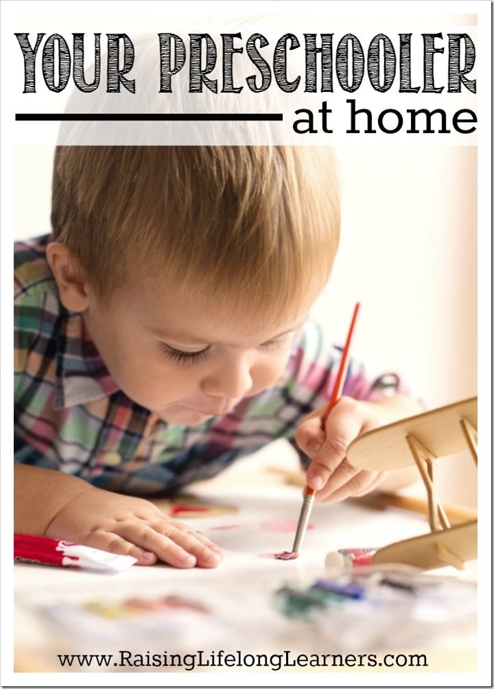 Your Preschooler at Home