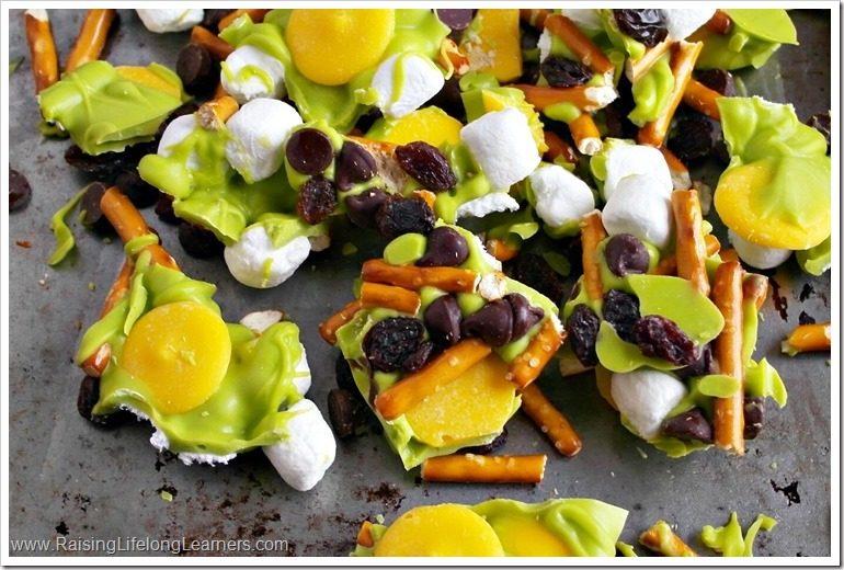 St Patricks Day Snack Mix Recipe