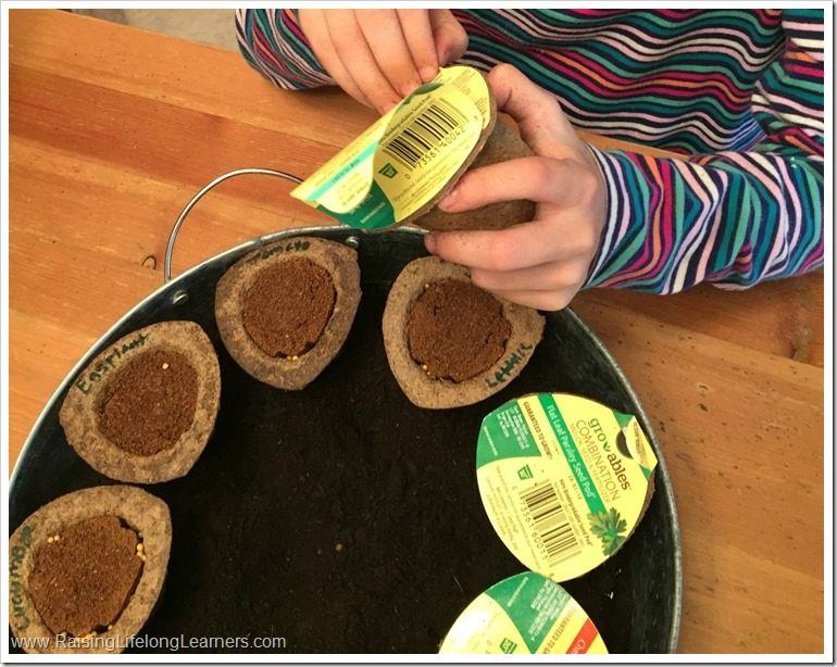 Planting a Salad Garden with Kids
