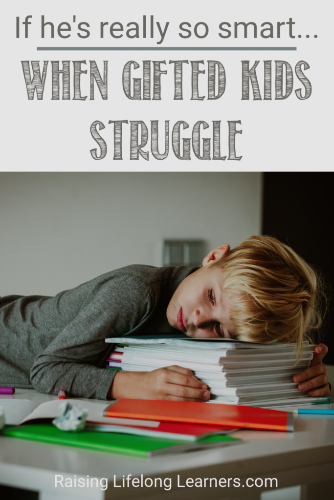 when gifted children struggle