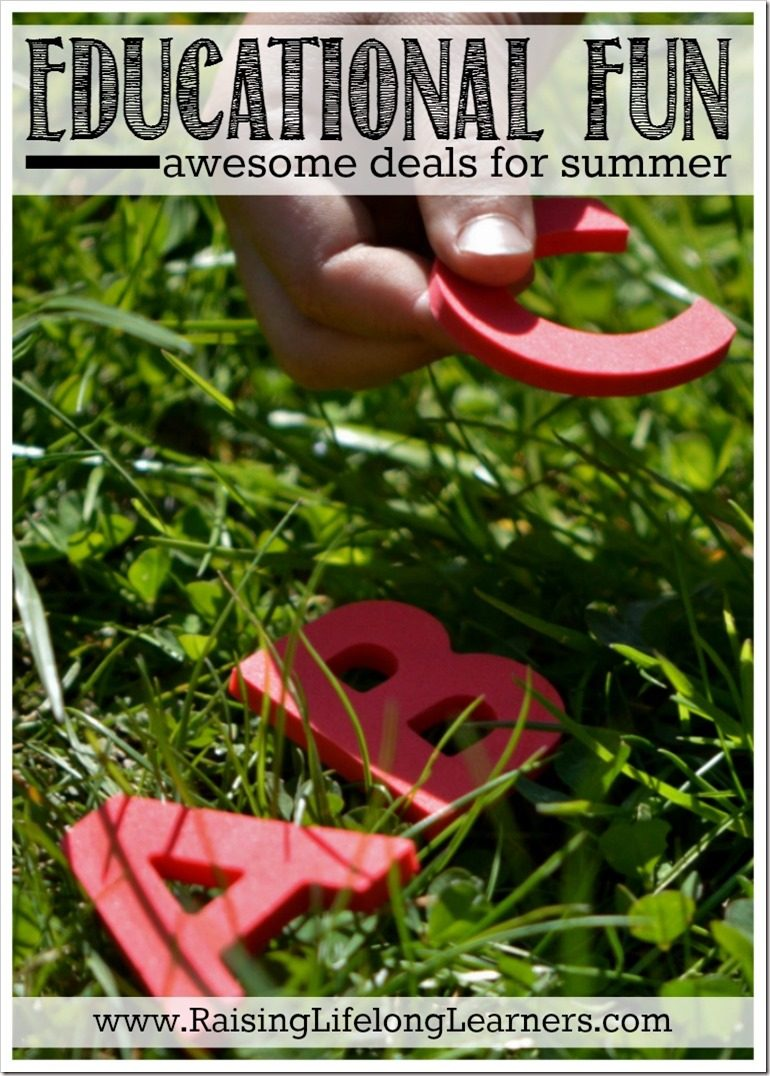 Educational Fun - Summer Deals For Learning