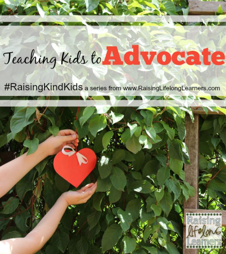 Teaching Kids to Advocate for Others