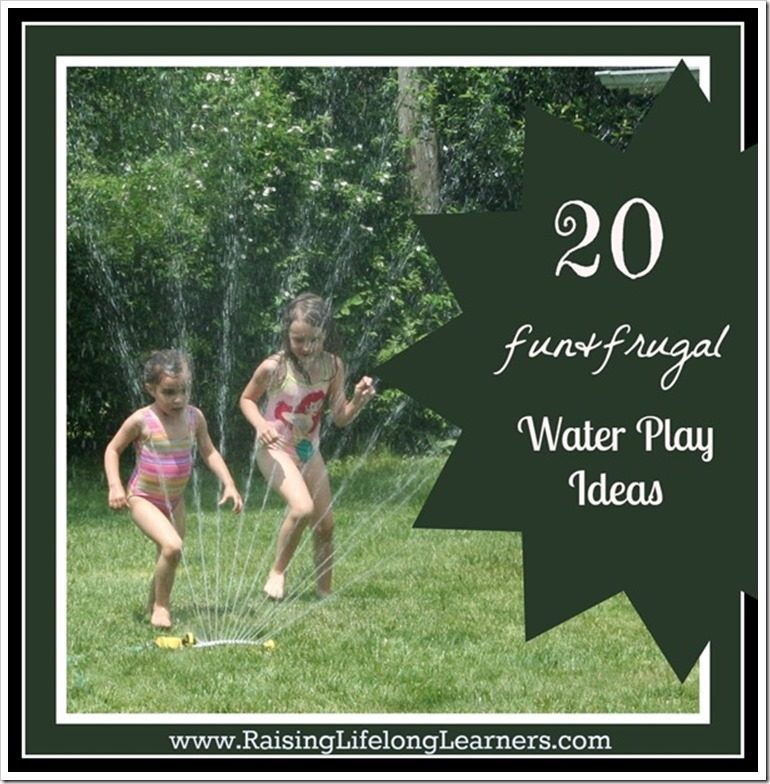 20 fun and frugal water play ideas