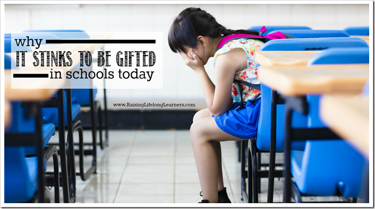 Why it Stinks to be Gifted in Schools Today
