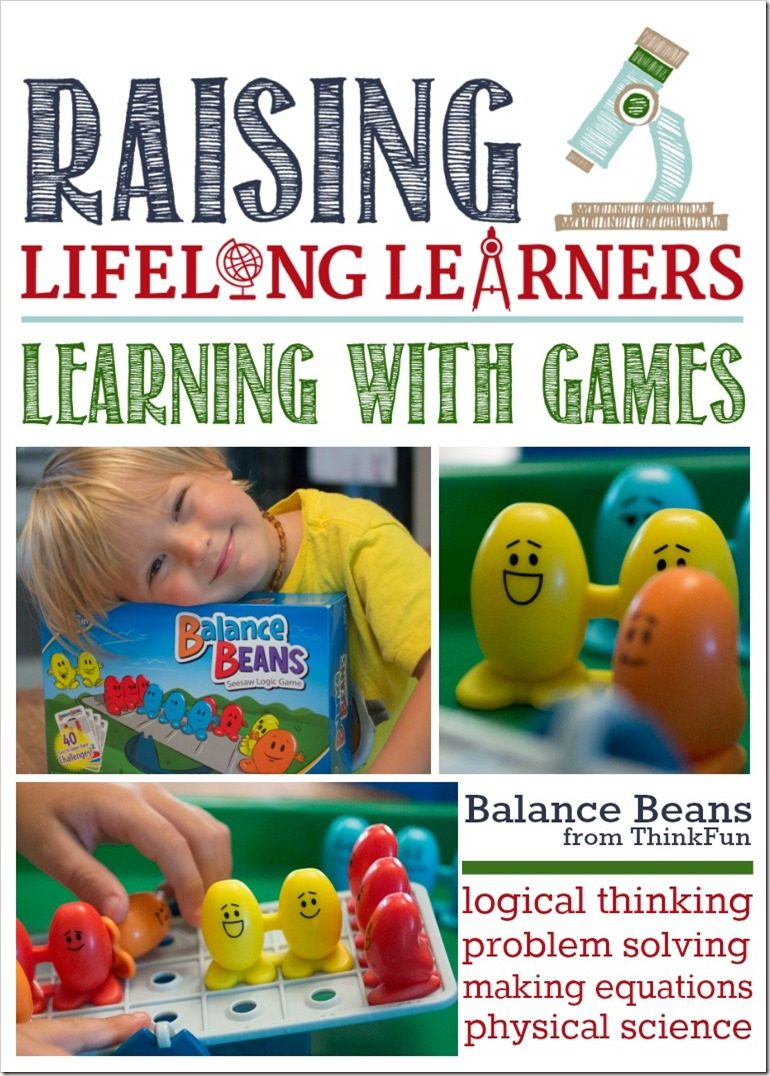 Balance Beans from ThinkFun Review