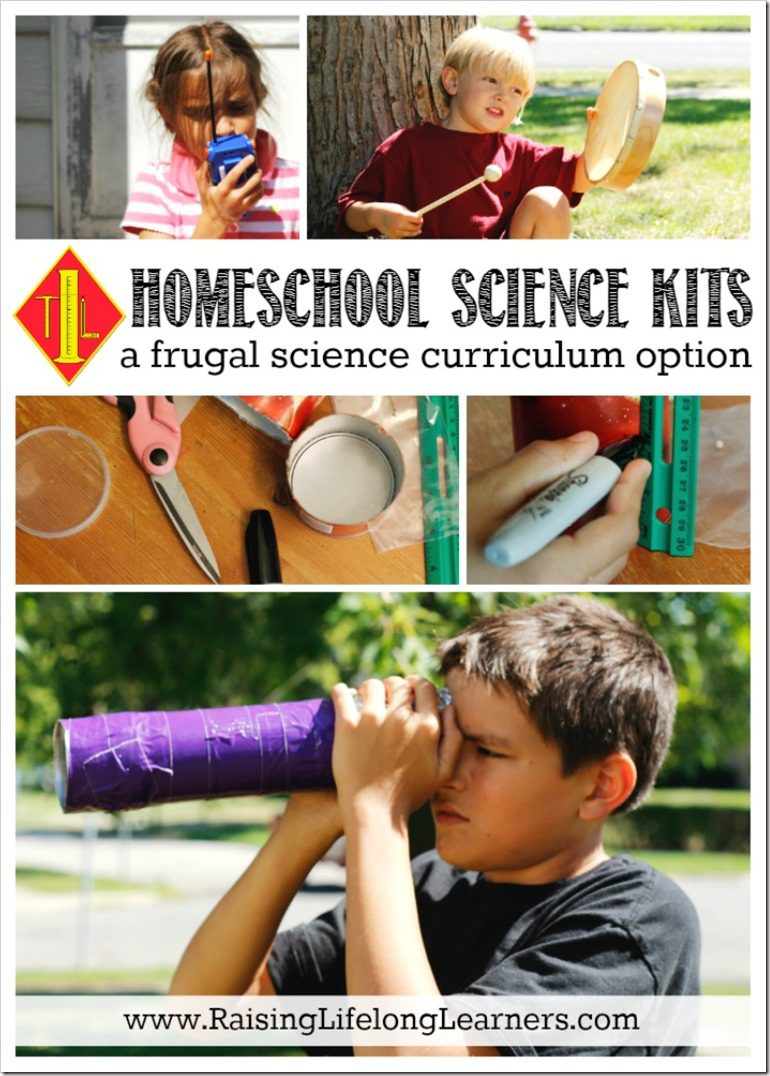 Homeschool Science Kits - a Frugal Science Curriculum Option