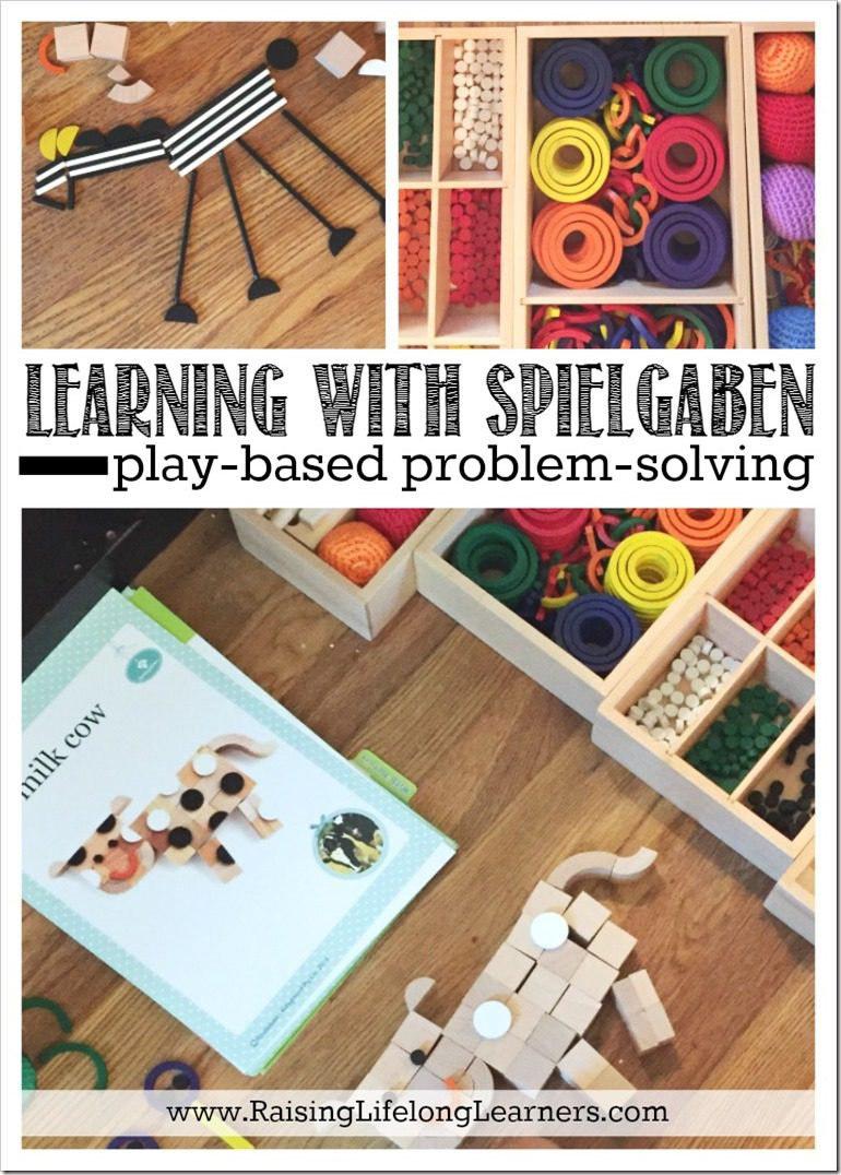 Learning with Spielgaben - Play-Based Problem-Solving