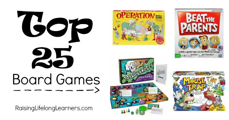 Top 25 Board Games
