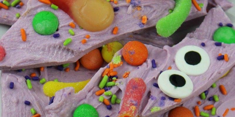 Spooky Halloween Boo Bark   Recipes for Kids