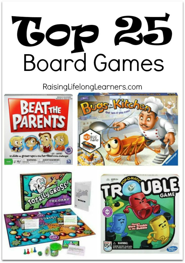 These top 25 board games will totally bring hours of entertainment to you and your family. What better way to spend time with the ones you love...