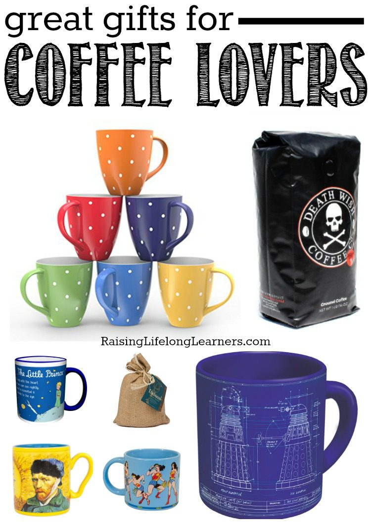 Great Gifts for Coffee LoversAre you a coffee lover? Or, do you have a few on your gift list this year? You will love these great gift ideas for the coffee lover in your life!