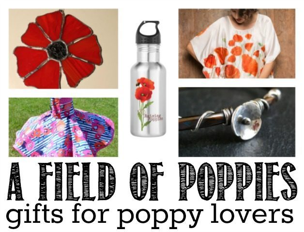 A Field of Poppy Gifts