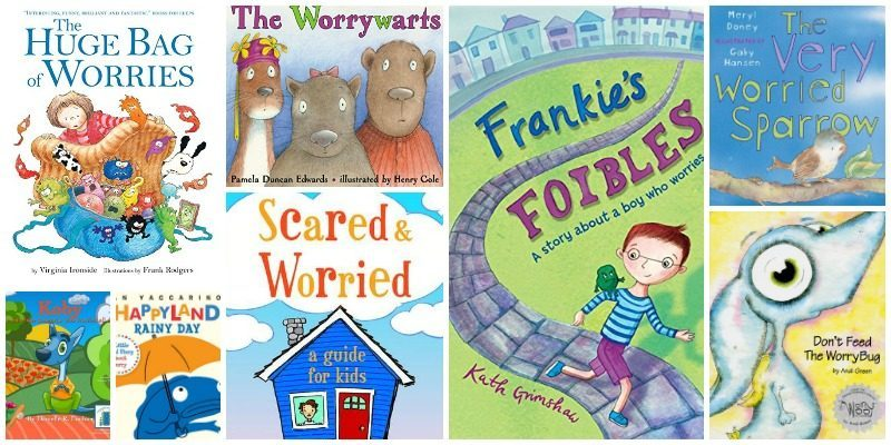 Books to Help Kids Who Worry
