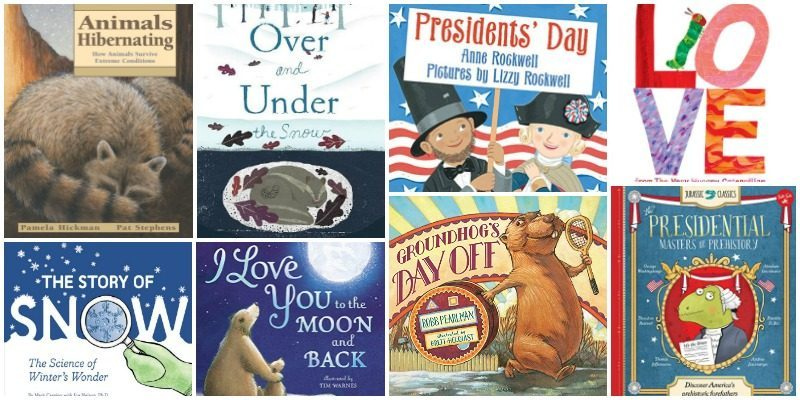 Great Books to Read with Your Kids in February