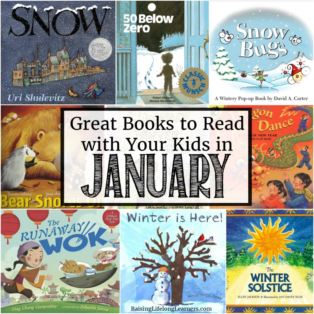 Great Books to Read with Your Kids in January